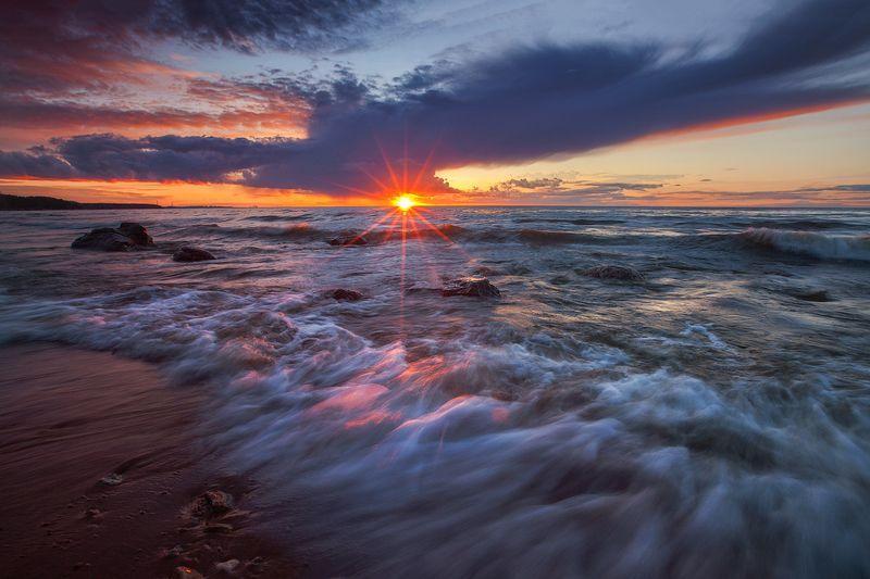 удрия, пейзаж, свет, море, закат Удрияphoto preview