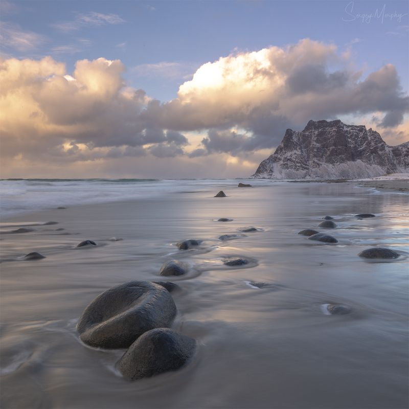 utakleiv, beach., norway., lofotens. Uttakleiv beach. Norway. Lofotens.photo preview