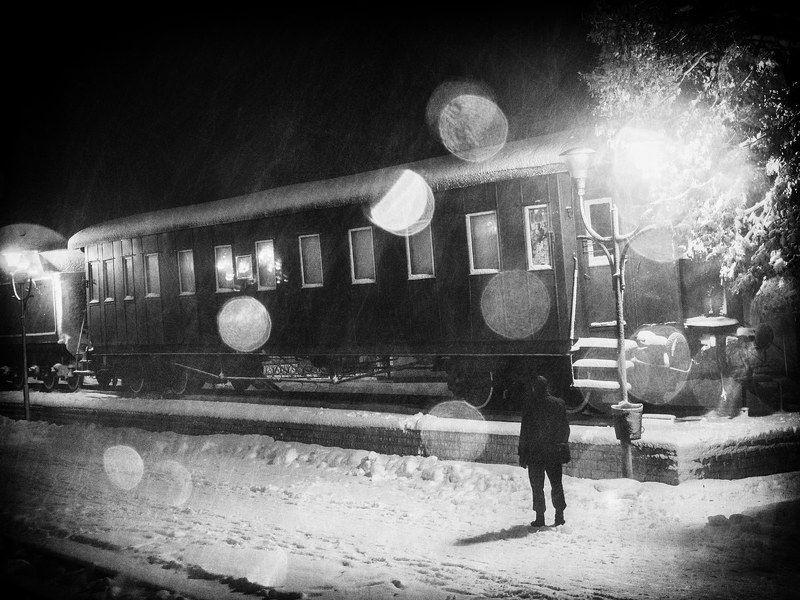 Позабытый вокзал неприснившихся снов...photo preview