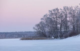 Зимний островок