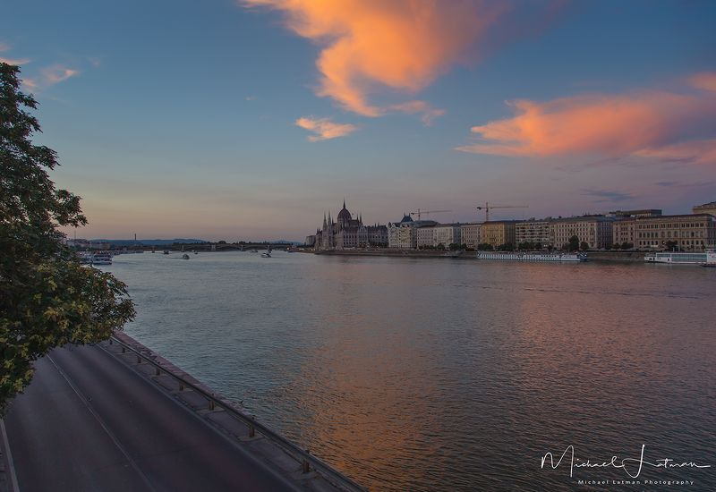 Blue Danube. Eveningphoto preview