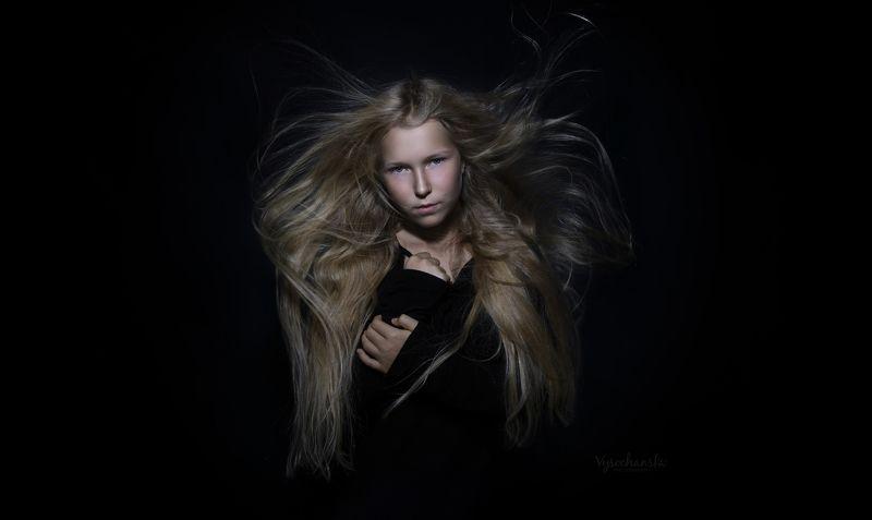 girl, portrait, long hair, blond Girls\' portraitphoto preview