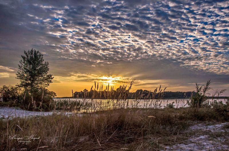 утро, рассвет, река, восход, осень Зари торжественные звуки...photo preview
