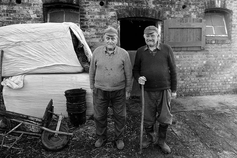 Belgian old peasant family.photo preview
