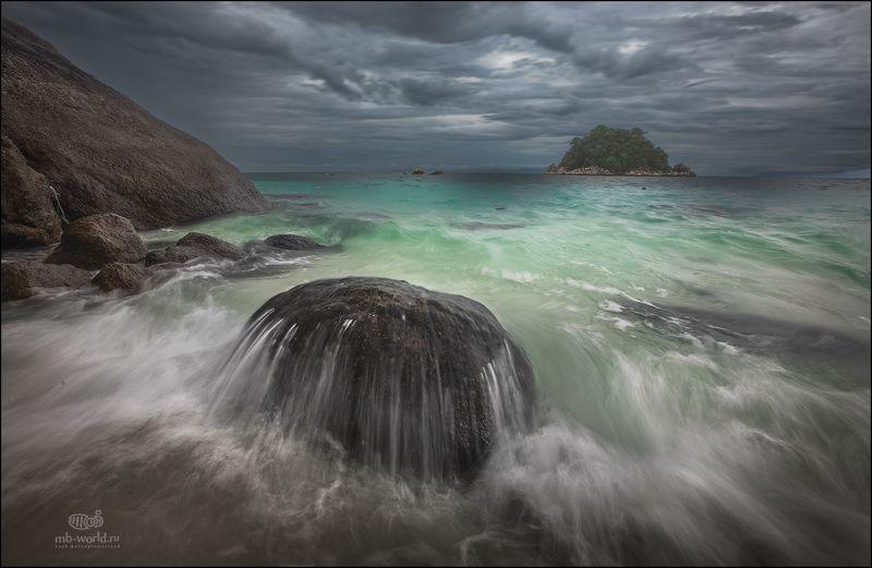 Таиланд, море, пейзаж, закат,  И в раю бывает непогода...photo preview