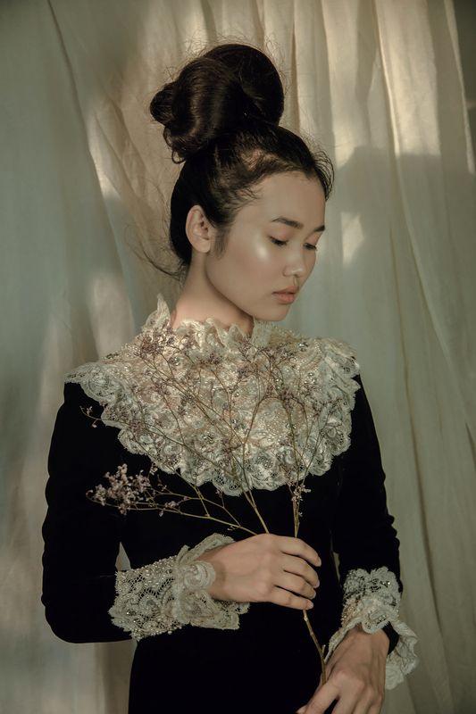 фото винтаж портрет Меланхолияphoto preview
