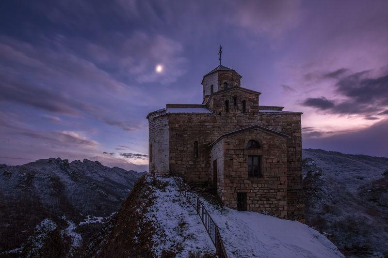 кчр, шоанинский храм ,горы ,кавказ,храм Шоанинский храм ...photo preview