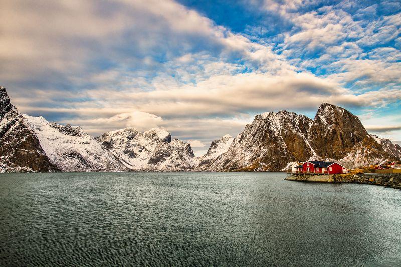 winter, lofoten Hamnøyphoto preview