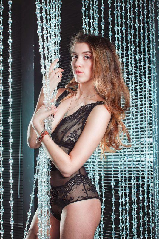 студия, девушка, модель Оляphoto preview