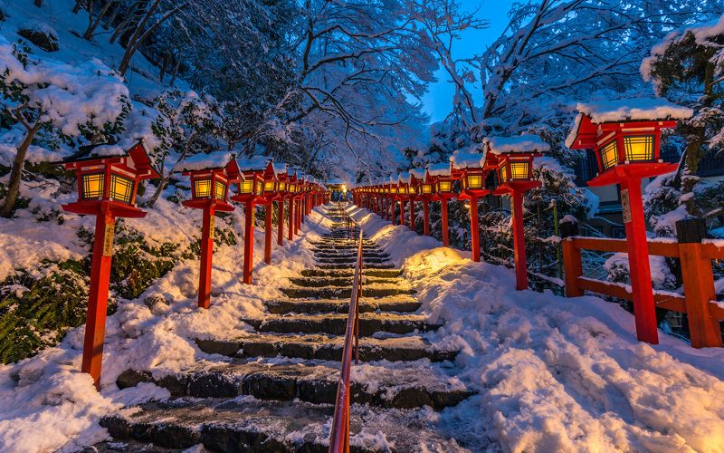 winter snow kyoto japan [ Silence Winter Beauty ]photo preview