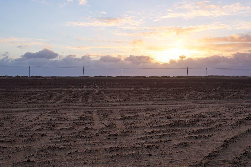 Пески заполярья. Деревня Кузомень Мурманской областиphoto preview