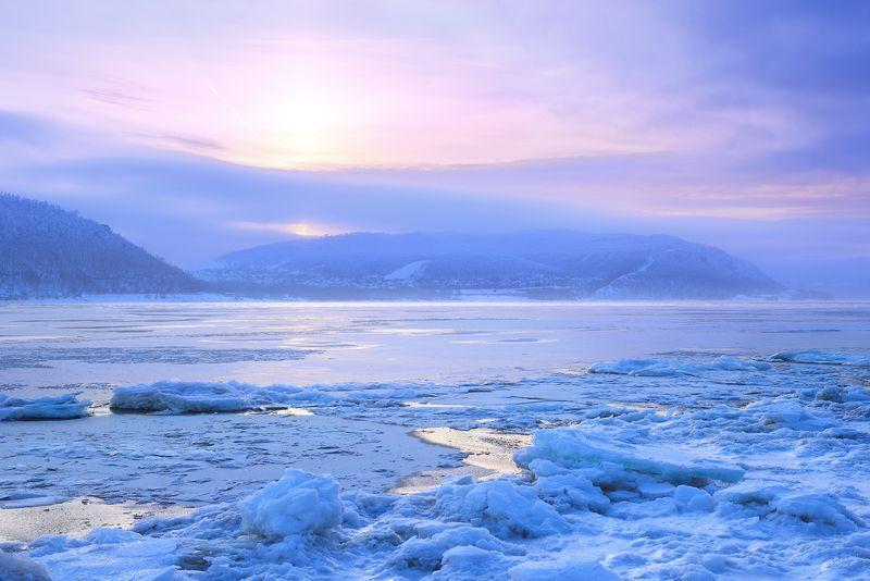 Зимние сумерки.photo preview