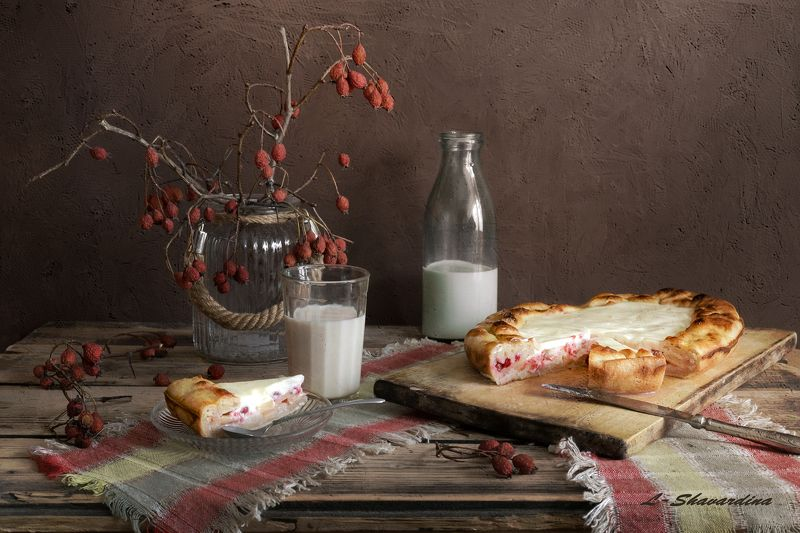 Пирог с молокомphoto preview