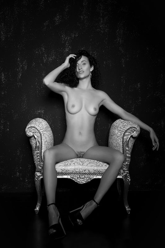 model, nude, naked, glamour, woman, female, black and white, body, sexy, sensual, shadow, curves, portrait, erotica, fine art, hair, pose, legs, fine nude, Lucaphoto preview