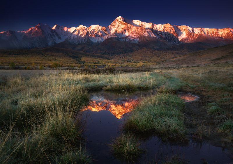 алтай, горы, куркурек Куркурек на восходеphoto preview