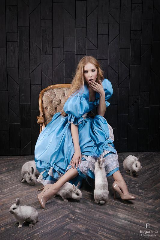 портрет, кролики Алисаphoto preview