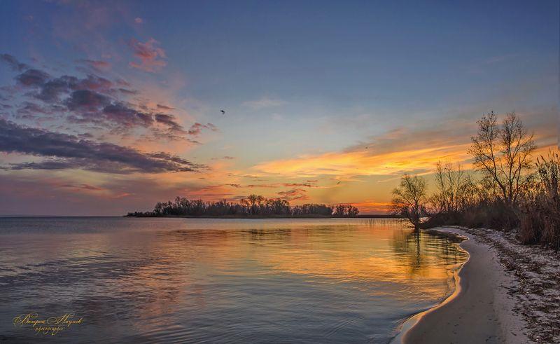 утро, рассвет, река, восход, декабрь Утро декабряphoto preview
