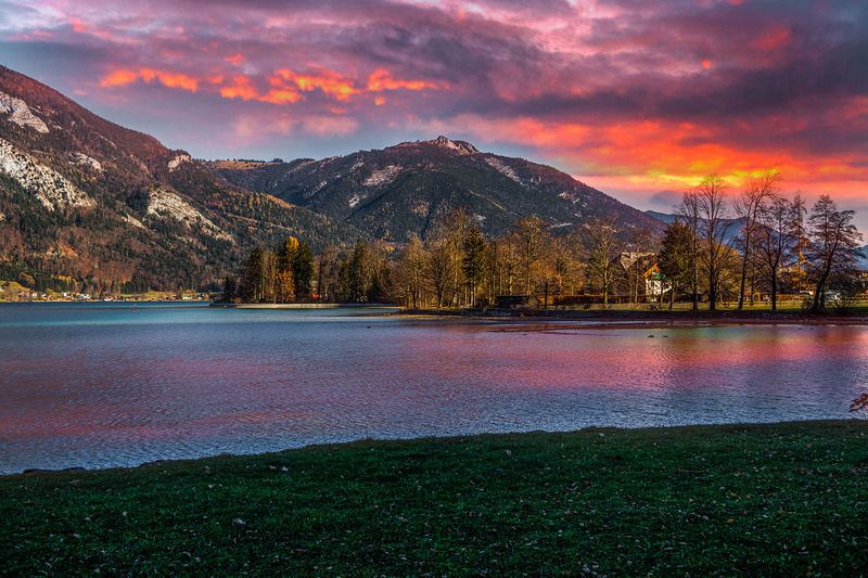 Закат в Австрииphoto preview