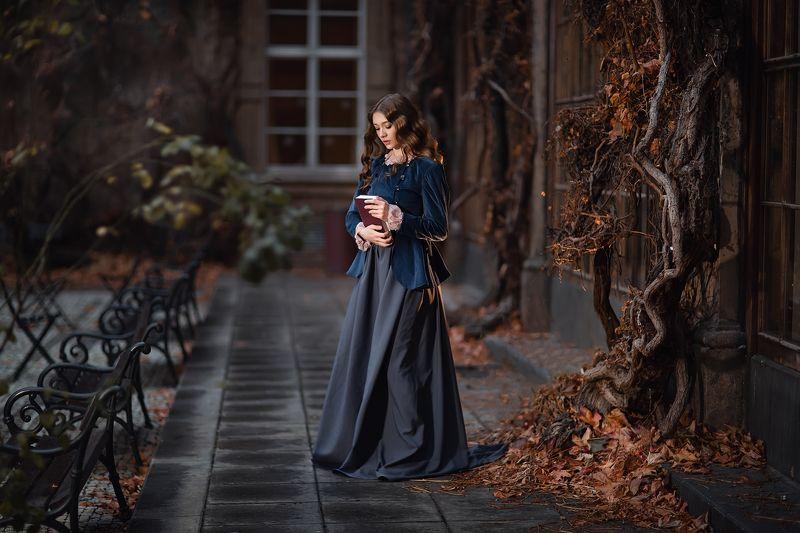 девушка, книга, прага, портрет, модель, portrait Прагаphoto preview