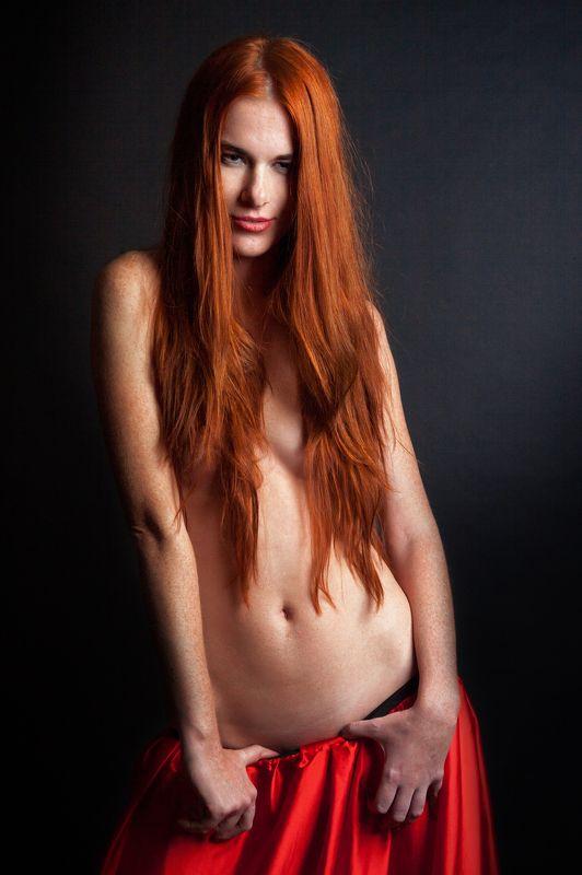 фото , цвет , девушка , гламур , рыжеволосая , студия Рыжеволосая в студии ...photo preview