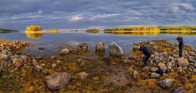 природа, пейзаж, кавказ, горы, весна, вечер, панорама, закат, солнце, небо, облака, свет. море Снимаю как снимаютphoto preview
