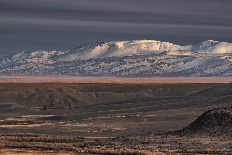 курай, горный алтай, осень, северо-чуйский,горы, осень Вечер у подножия горphoto preview