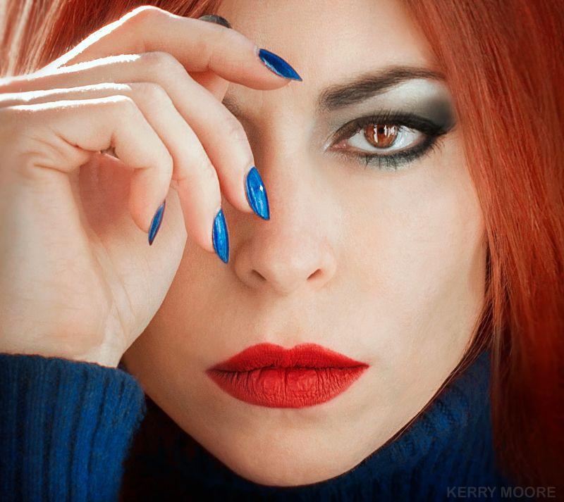portrait, girl, beauty, freckles, dream,  портрет Serafimaphoto preview