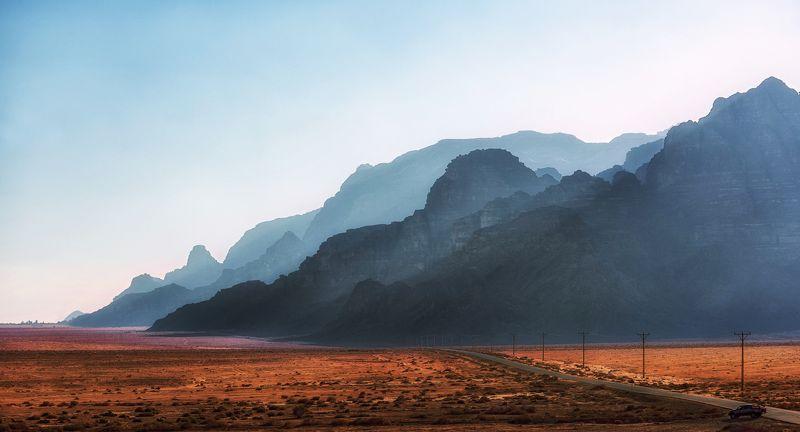 пустыня, вечер, декабрь Декабрьский вечер photo preview