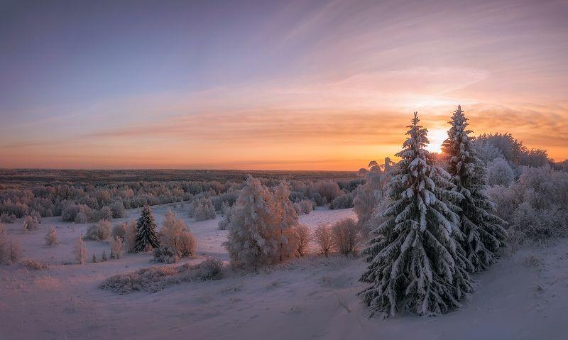 drone photo,sunset,dji,mavic pro,закат,зима,деревня,верхняя тойма,архангельская область,зимний лес тепло зимыphoto preview