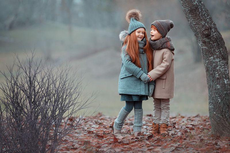 фотопрогулка, зима, дети, детская фотосессия, детский фотограф, фотосессия, радость счастье, детский и семейный фотограф, детское фото, рыжики, дети на фото, маленькие дети, девочка, мальчик, семья, семейное фото, вечер, дружба Вместе веселее!photo preview