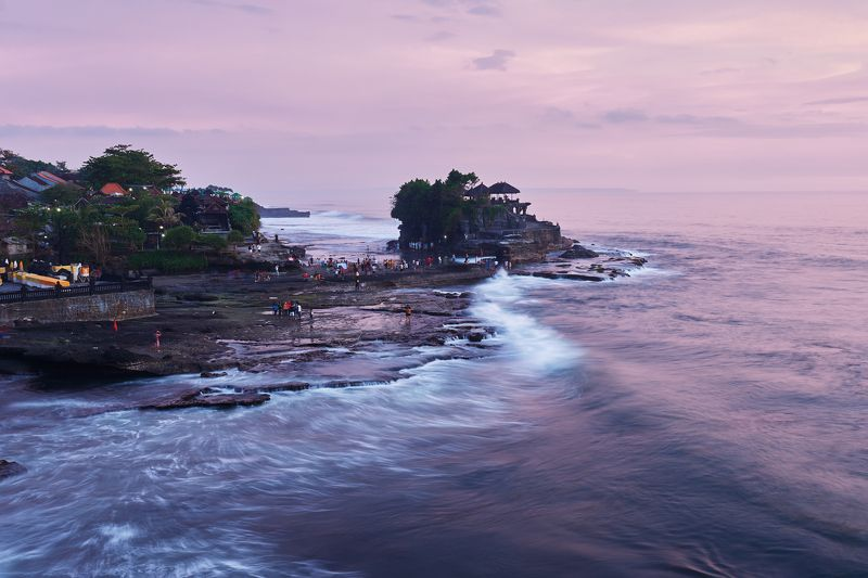 tanah lot, bali, indonesia, travel, temple photo preview