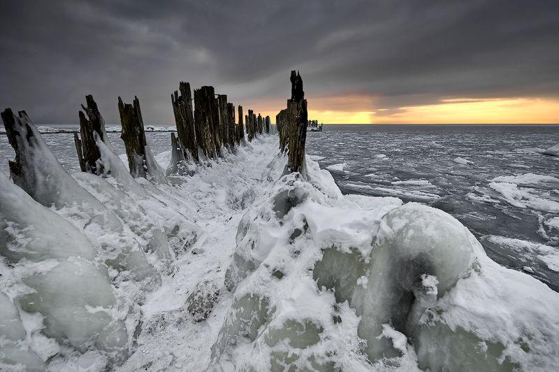 winter,  snow, ice, baltic sea Winter Baltic Seaphoto preview