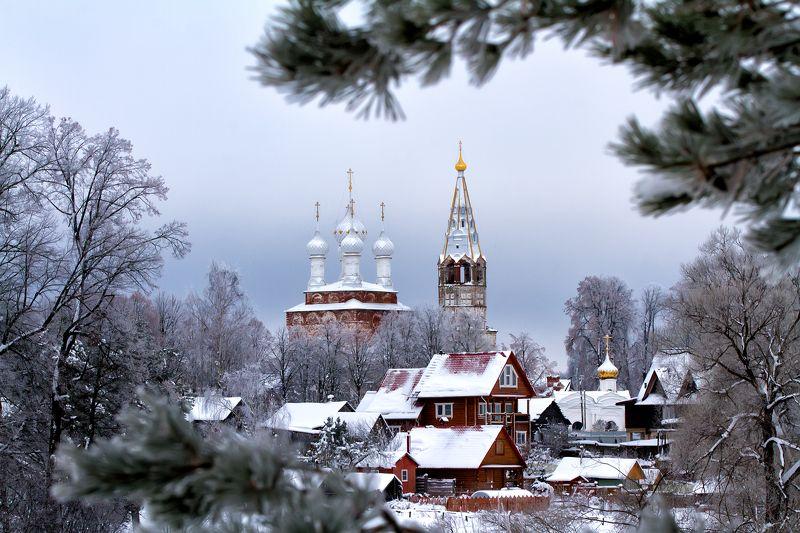 зима, дунилово, пейзаж Зимняя сказкаphoto preview