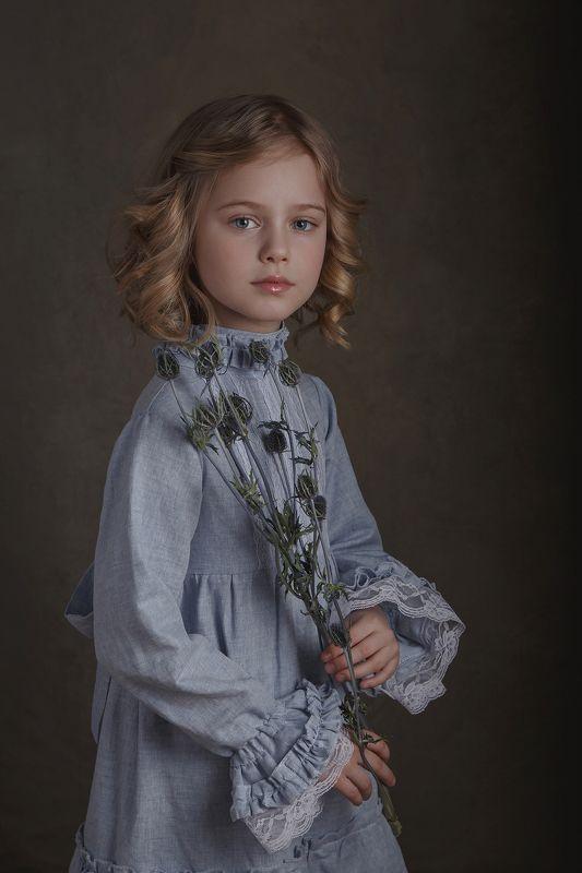 девочка, ангел, ребенок, портрет, арт Златаphoto preview