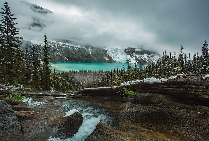 robson, milk, rain, berg, glacier, turquoise ИЗ МОЛОЧНОГО В БИРЮЗОВЫЙ И 0БРАТНОphoto preview