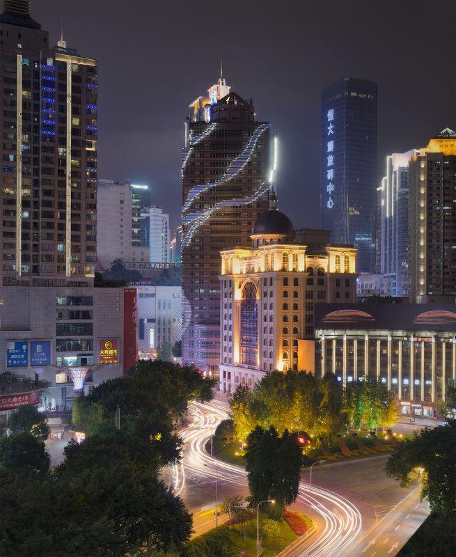 китай, china, chóngqìng Chongqing street viewphoto preview