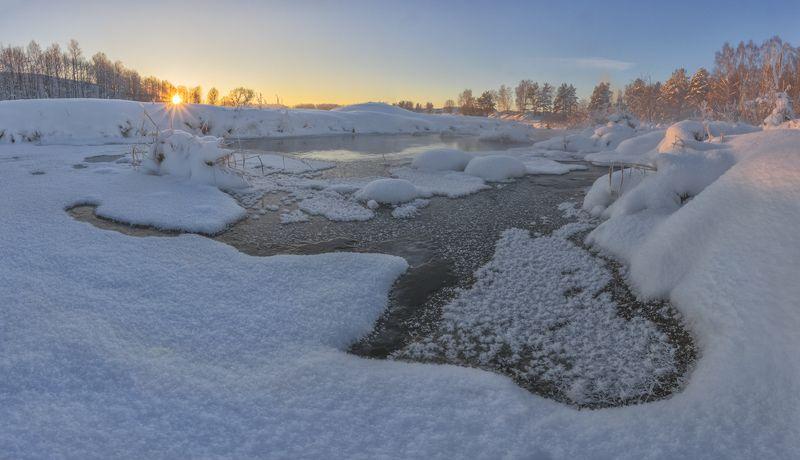 Зимний вечер.photo preview