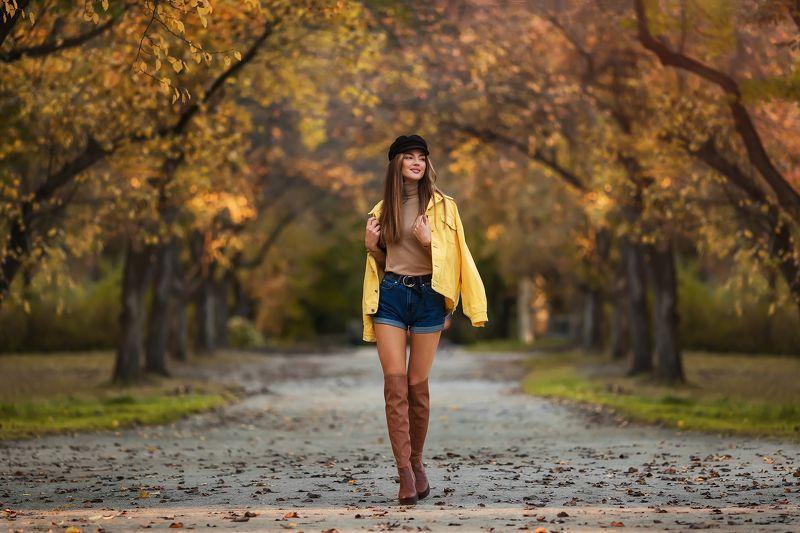 модель, девушка, портрет, portrait, осень Ксенияphoto preview
