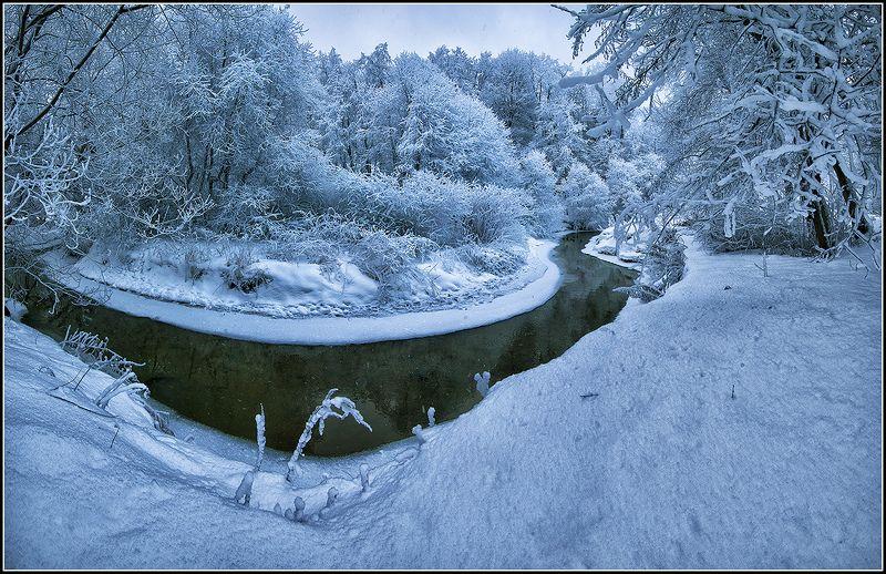 зима, в, переделкино *  *  *photo preview