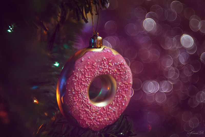 новый год, ёлочные украшения, ёлочные шары, боке, блёстки С наступающим!photo preview