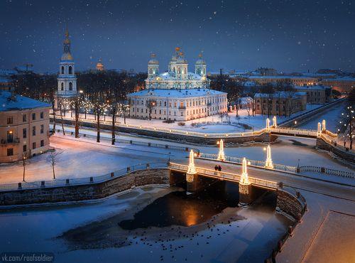 С Новым Годом, Петербург!