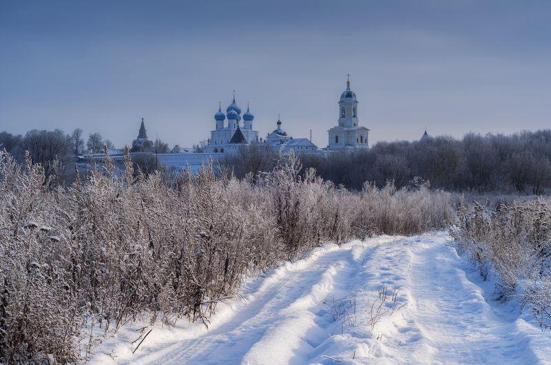 зима,снег,природа,холод,монастырь ***photo preview