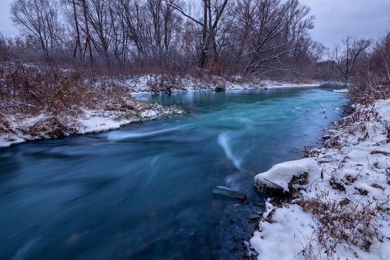 пейзаж, река, Рязань, зима Атмосфера наступившей зимыphoto preview