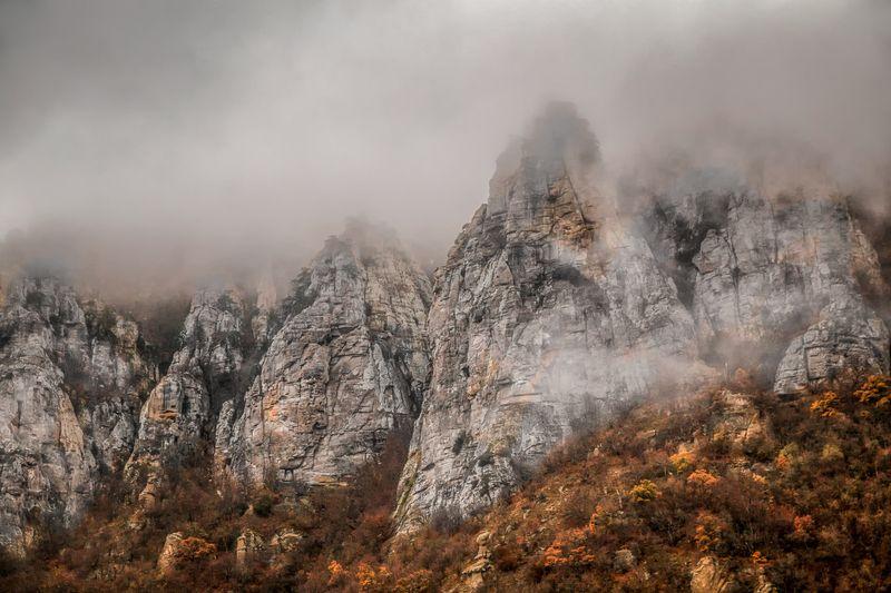 крым,осень,туманы,горы,закат,рассвет,россия,фототур,природа,пейзаж Туманы Демерджиphoto preview