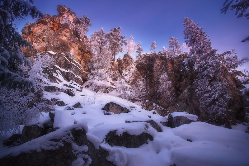 урал, горы, малиновая, белорецк, зима, уральскиегоры Малиноваяphoto preview