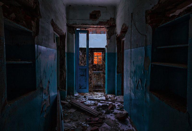 заброшенное, свет, Рязань, Tamron Поиски света в декабрьской мглеphoto preview
