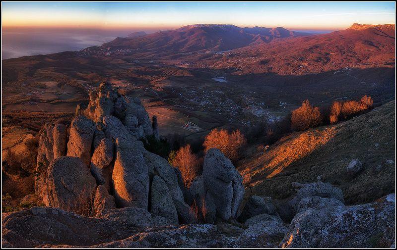крым, осень, утро. демирджи *  *  *photo preview