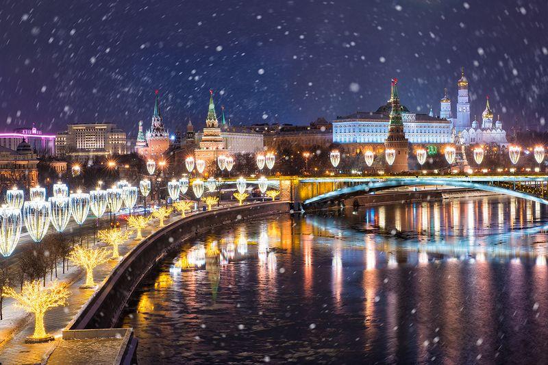 Москва новогодняяphoto preview