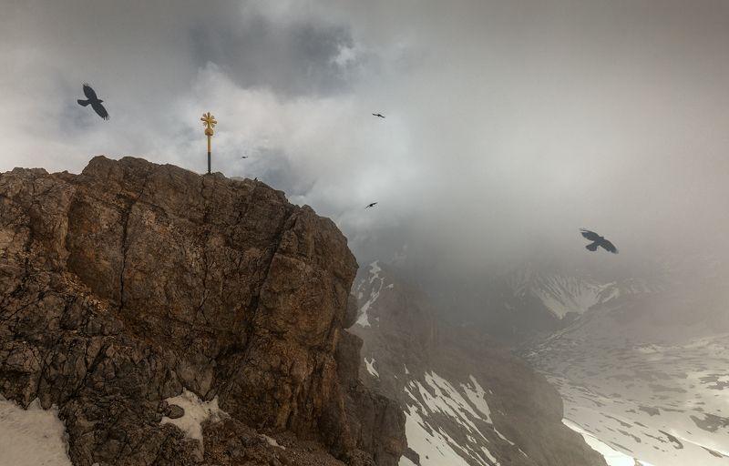 Австрия. Альпы. Выше только облака.photo preview