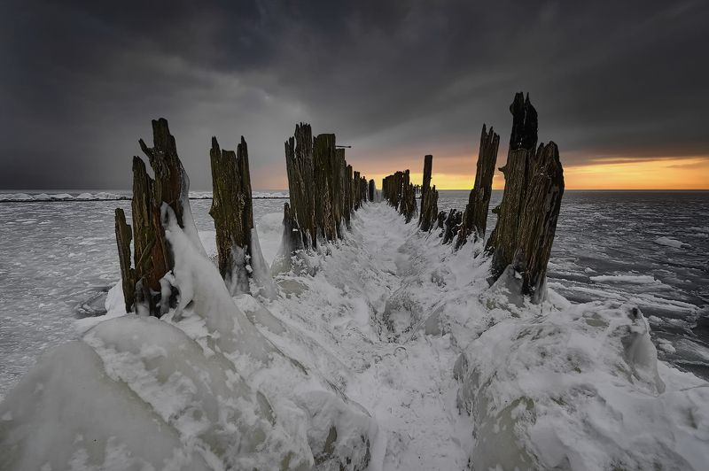 winter, baltic sea, snow, ice , frost Winter Baltic Seaphoto preview